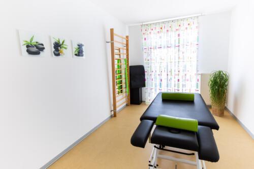 Therapieraum Grün